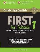 Cover-Bild zu Cambridge English. First for Schools 1. Student's Book with Answers