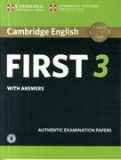 Cover-Bild zu Cambridge English First 3 Student's Book with Answers with Audio