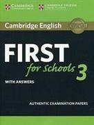 Cover-Bild zu Cambridge English First for Schools 3 Student's Book with Answers