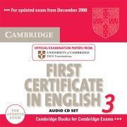 Cover-Bild zu Cambridge First Certificate in English 3 for Updated Exam Audio CDs (2) von Cambridge ESOL