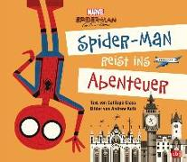Cover-Bild zu Marvel Spider-Man reist ins Abenteuer von Glass, Calliope