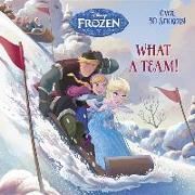 Cover-Bild zu What a Team! (Disney Frozen) von Glass, Calliope