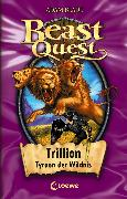 Cover-Bild zu Beast Quest 12 - Trillion, Tyrann der Wildnis (eBook) von Blade, Adam