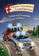 Cover-Bild zu Leselöwen - Das Original - 7-Minuten-Geschichten zum Lesenlernen - Polizei und Feuerwehr im Einsatz