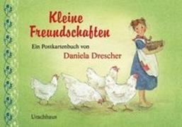 Cover-Bild zu Postkartenbuch »Kleine Freundschaften« von Drescher, Daniela (Illustr.)