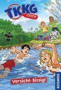 Cover-Bild zu Tannenberg, Benjamin: TKKG Junior, 2, Vorsicht: Bissig! (eBook)