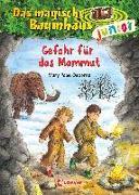 Cover-Bild zu Das magische Baumhaus junior 7 - Gefahr für das Mammut von Pope Osborne, Mary
