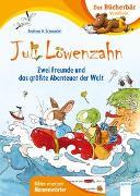 Cover-Bild zu Juli Löwenzahn. Zwei Freunde und das größte Abenteuer der Welt von Schmachtl, Andreas H.