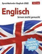Cover-Bild zu Sprachkalender Englisch 2022