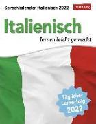 Cover-Bild zu Sprachkalender Italienisch 2022