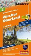 Cover-Bild zu Zürcher Oberland Mountainbike-Karte Nr. 2, 1:50 000. 1:50'000 von Hallwag Kümmerly+Frey AG (Hrsg.)