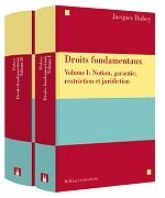 Cover-Bild zu Droits fondamentaux Volume I et Volume II von Jacques Dubey