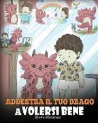 Cover-Bild zu Addestra il tuo drago a volersi bene von Herman, Steve
