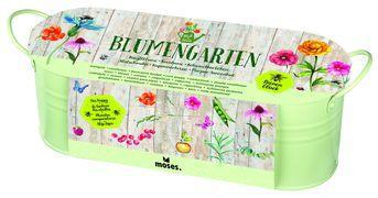 Cover-Bild zu Blatt & Blüte Blumengarten in Zinkwanne