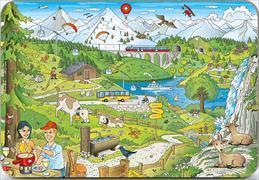 Cover-Bild zu Frühstücksbrettchen/Schneidebrettchen Schweizer Bergwelt