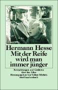 Cover-Bild zu Hesse, Hermann: Mit der Reife wird man immer jünger