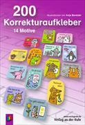 Cover-Bild zu 200 Korrekturaufkleber von Boretzki, Anja (Illustr.)