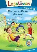 Cover-Bild zu Kiel, Anja: Leselöwen 2. Klasse - Die besten Kicker der Welt