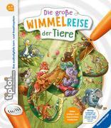 Cover-Bild zu Kiel, Anja: tiptoi® Die große Wimmelreise der Tiere