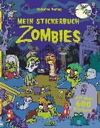 Cover-Bild zu Mein Stickerbuch: Zombies von Robson, Kirsteen