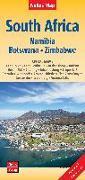 Cover-Bild zu Nelles Map Landkarte South Africa : South Africa, Namibia, Botswana, Zimbabwe | Südafrika | Afrique du Sud | África del Sur. 1:2'500'000 von Nelles Verlag (Hrsg.)