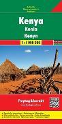 Cover-Bild zu Kenya. 1:1'000'000 von Freytag-Berndt und Artaria KG (Hrsg.)