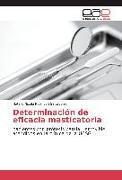 Cover-Bild zu Determinación de eficacia masticatoria von Robinson Salvatierra, Natalie Nicole