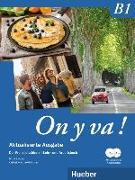 Cover-Bild zu On y va ! B1. Lehr- und Arbeitsbuch mit komplettem Audiomaterial - Schulbuchausgabe ohne Lösungen. Aktualisierte Ausgabe von Laudut, Nicole