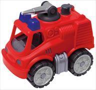 Cover-Bild zu BIG-Power-Worker Mini Feuerwehr mit Wasserspritzfunktion