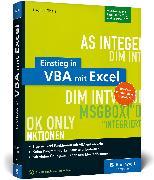 Cover-Bild zu Einstieg in VBA mit Excel