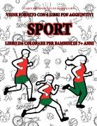 Cover-Bild zu Libro da colorare per bambini di 7+ anni (Sport) von Bianchi, Gino