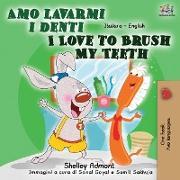 Cover-Bild zu Amo lavarmi i denti I Love to Brush My Teeth von Admont, Shelley