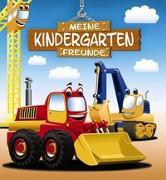 Cover-Bild zu Meine Kindergarten-Freunde (Bagger) von Böhm, Michael (Illustr.)