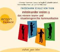 Cover-Bild zu Miteinander reden Teil 3: Das »Innere Team« und situationsgerechte Kommunikation von Schulz von Thun, Friedemann