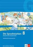 Cover-Bild zu Die Sprachstarken 8. Schuljahr. Arbeitsheft Grundanprüche