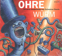 Cover-Bild zu Bd. 1: Ohre Würm - Ohre Würm von Caprez, Andrea (Illustr.)