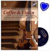 Cover-Bild zu Coffee & Violin von Johow, Joachim (Komponist)