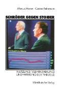 Cover-Bild zu Schröder gegen Stoiber von Maurer, Marcus