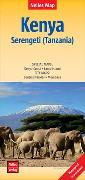 Cover-Bild zu Nelles Map Landkarte Kenya - Serengeti (Tanzania)   Kenia - Serengeti (Tansania)   Kenya - Serengeti (Tanzanie)   Kenia - Serengueti (Tanzania). 1:1'100'000 von Nelles Verlag (Hrsg.)