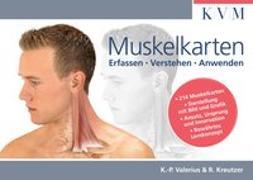 Cover-Bild zu Muskelkarten von Valerius, Klaus-Peter