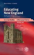 Cover-Bild zu Educating New England von Schmid, Franziska