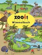 Cover-Bild zu Zoo Zürich Wimmelbuch von Görtler, Carolin
