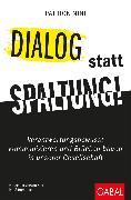 Cover-Bild zu Dialog statt Spaltung! (eBook) von Nini, Patrick