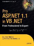 Cover-Bild zu Pro ASP.NET 1.1 in VB .NET (eBook) von Eide, Andreas