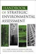 Cover-Bild zu Handbook of Strategic Environmental Assessment von Sadler, Barry (Hrsg.)