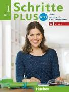 Cover-Bild zu Niebisch, Daniela: Schritte plus Neu 1. A1.1. Ausgabe Schweiz. Kursbuch + Arbeitsbuch mit Audio-CD zum Arbeitsbuch