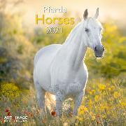 Cover-Bild zu Horses 2021 A&I INT 30x30