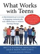 Cover-Bild zu Rathbone, Britt H.: What Works with Teens (eBook)
