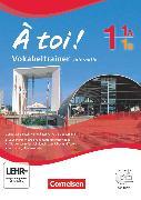 Cover-Bild zu À toi !, Vier- und fünfbändige Ausgabe, Band 1, 1A und 1B, Vokabeltrainer auf CD-ROM