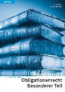 Cover-Bild zu Repetitorium Obligationenrecht Besonderer Teil von Forrer, Fiona